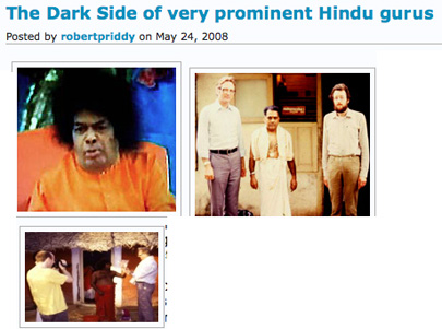 Indian gurus' dark sides exposed