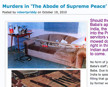 Murders in Sathya Sai Baba's bedroom - 2